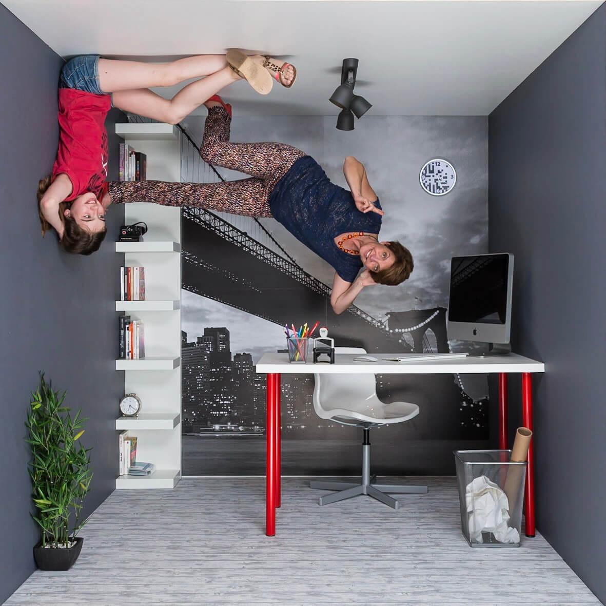 Les réalisations Lehmann Studio, photographe à Angers - animation photo événementielle Gravitybox ambiance bureau