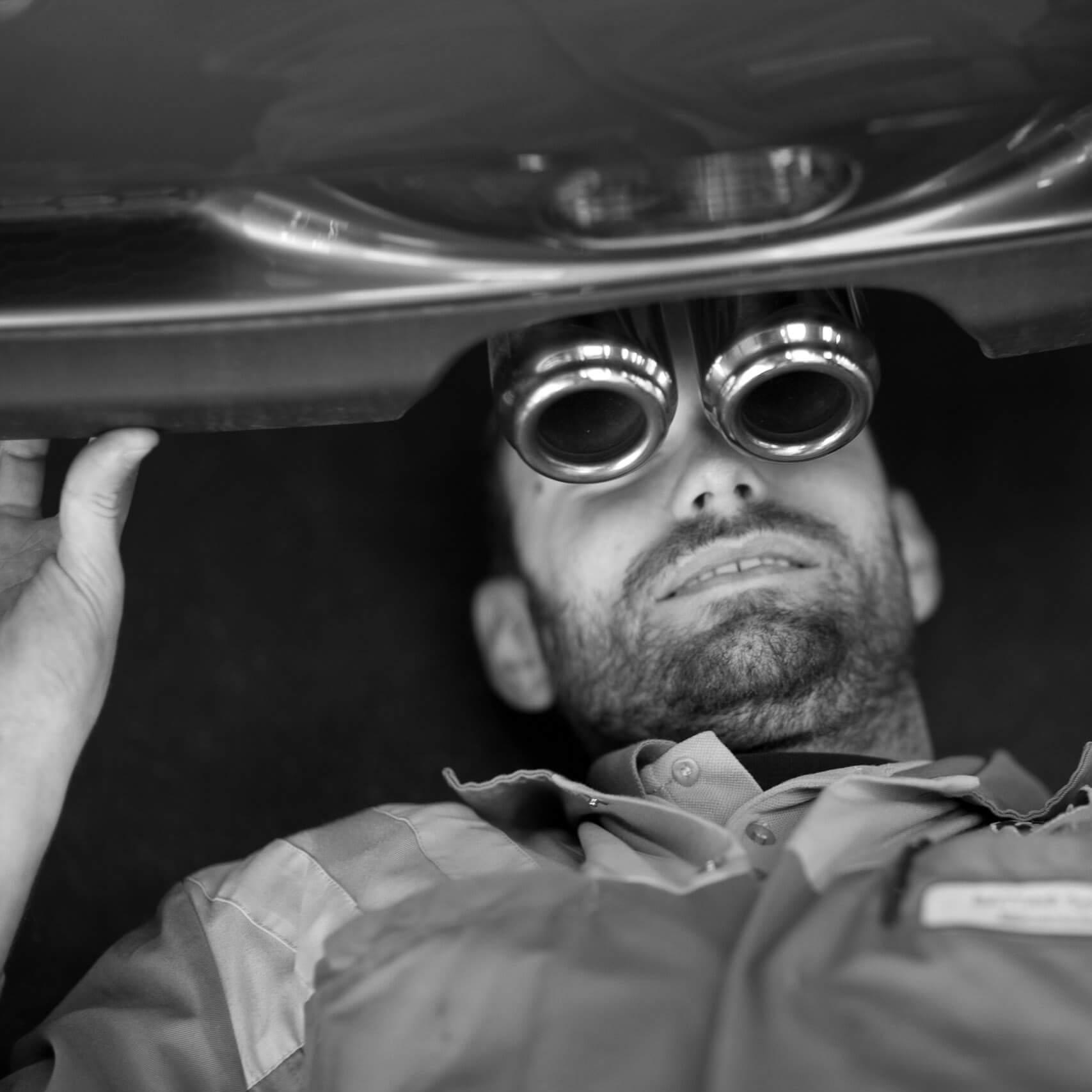 Les réalisations Lehmann Studio, photographe à Angers - reportage métier, portrait mécanicien