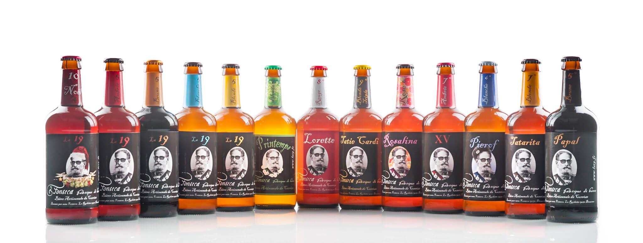 Les réalisations Lehmann Studio, photographe à Angers - shooting produits en studio packshot bières Fonseca