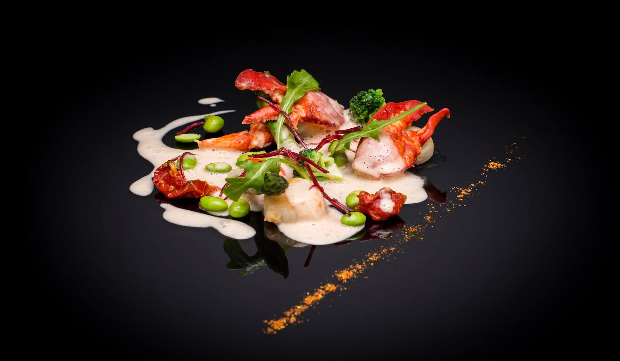 Les réalisations Lehmann Studio, photographe à Angers - shooting culinaire en studio crustacés