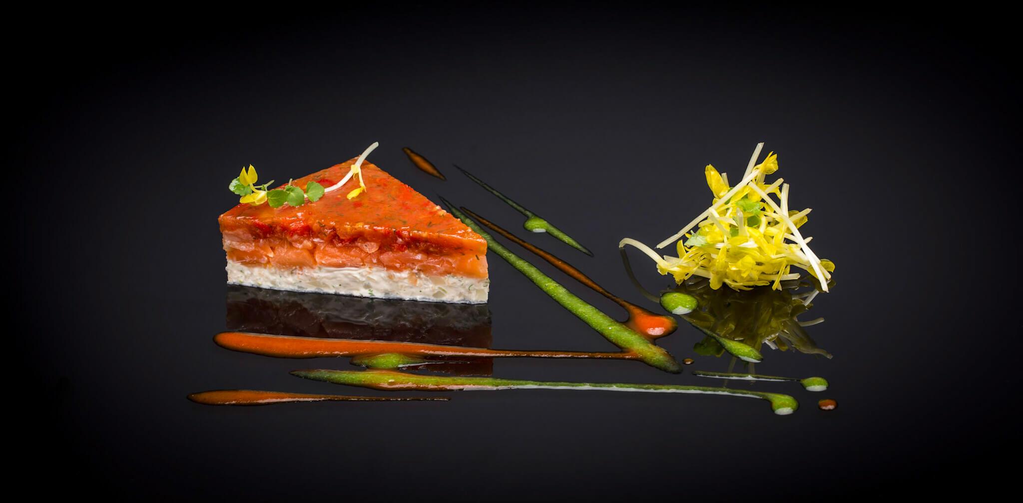 Les réalisations Lehmann Studio, photographe à Angers - shooting culinaire en studio flan de légumes