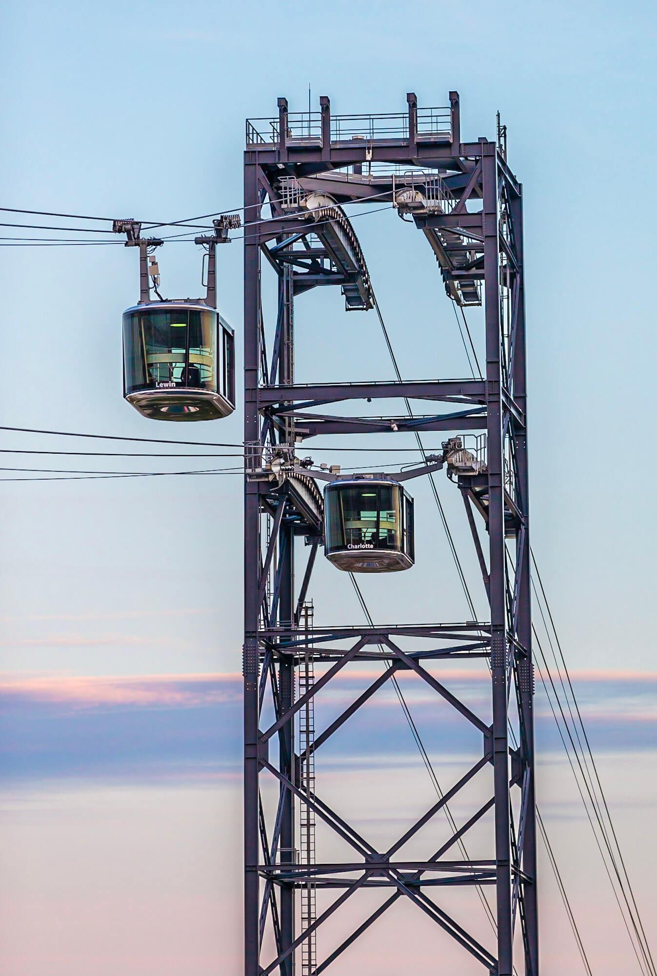 Les réalisations Lehmann Studio, photographe à Angers - reportage photo téléphérique Brest