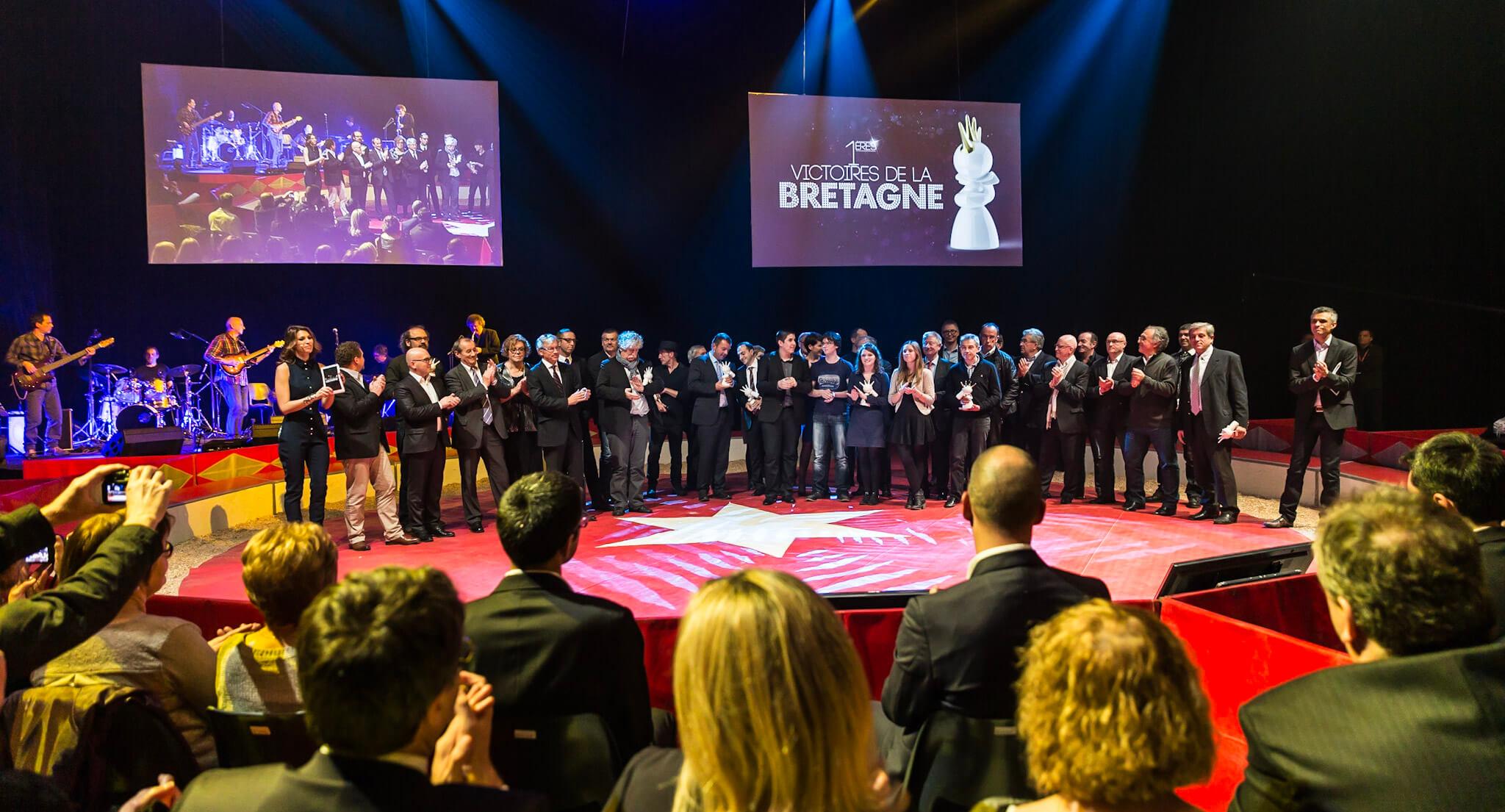 Les réalisations Lehmann Studio, photographe à Angers - reportage photo événementiel Les Victoires de la Bretagne