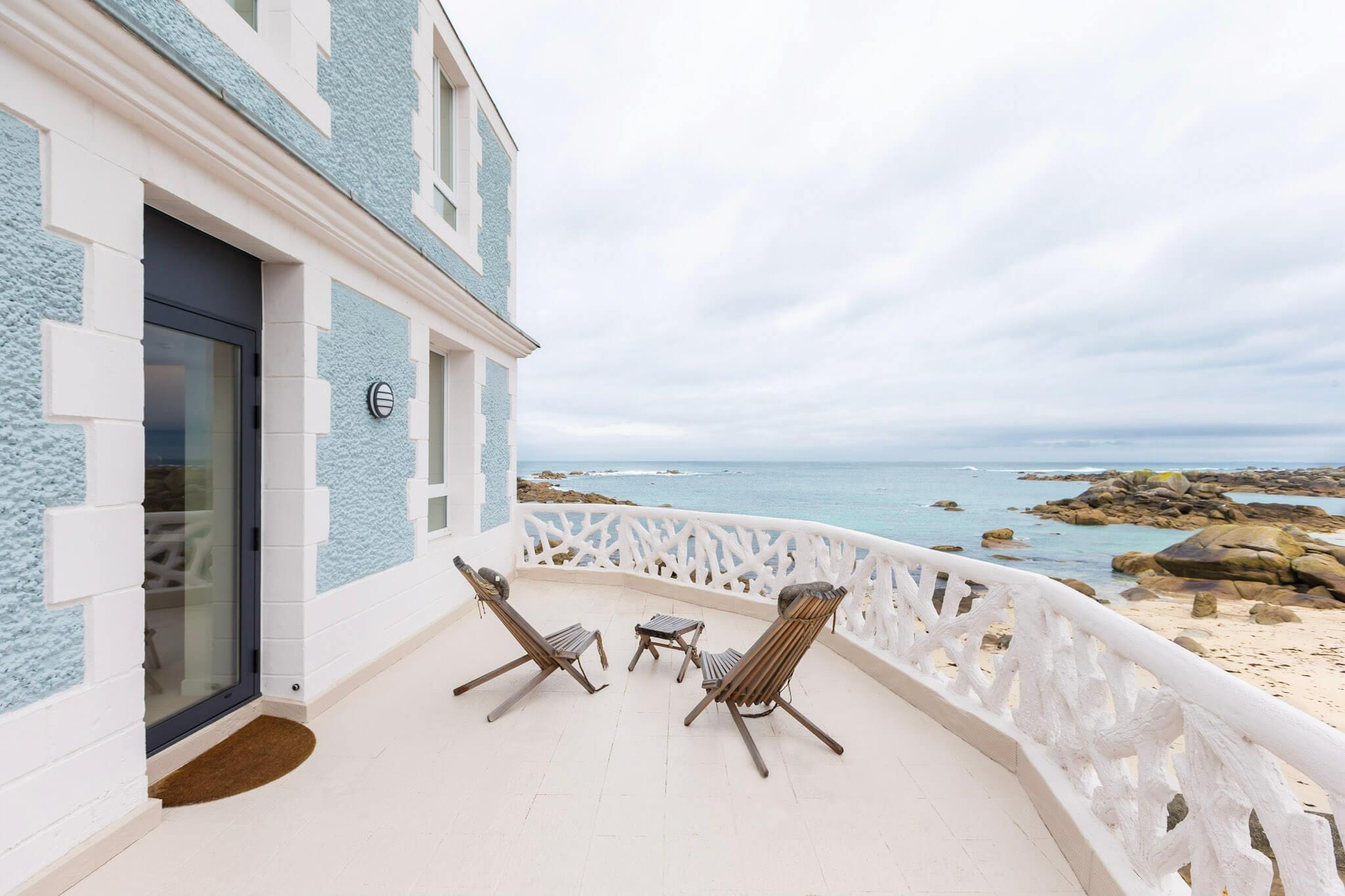 Les réalisations Lehmann Studio, photographe à Angers - reportage photo architecture hôtel de la mer Brignogan extérieur